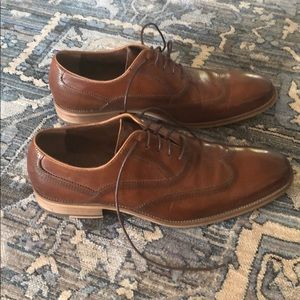 Steve Madden Cysco Brown Cognac Dress Shoes